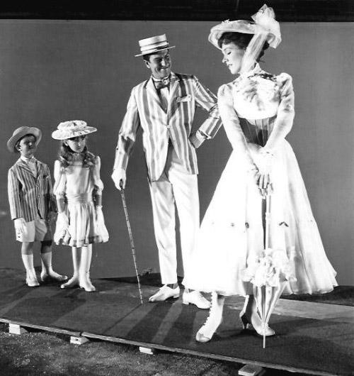 Dietro Le Quinte Di Mary Poppins Foto Internazionale