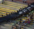 La marcia nera di Hong Kong