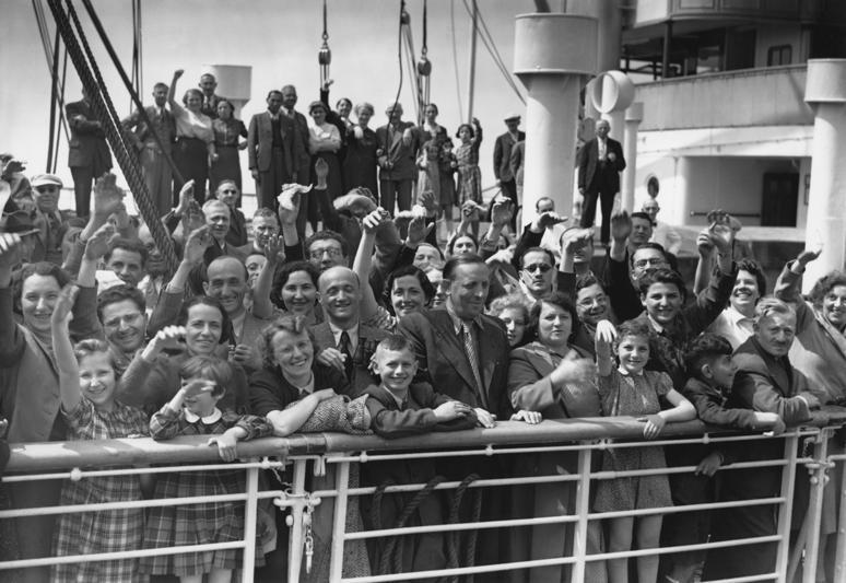 I passeggeri in attesa di scendere. - (Keystone/Getty Images)