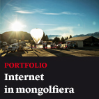 Internet in mongolfiera