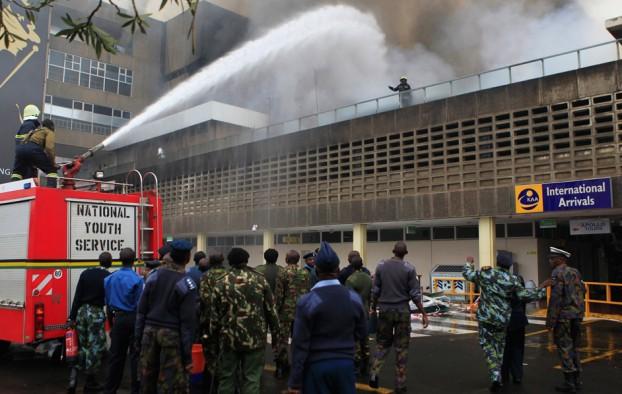 Aeroporto Nairobi : Internazionale l incendio all aeroporto di nairobi