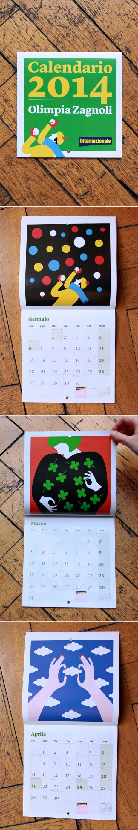 Calendario Internazionale.Un Anno A Colori La Stanza Dei Grafici Internazionale