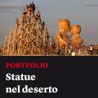Statue nel deserto