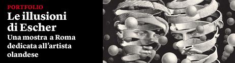 Le illusioni di Escher