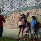 Vicino al fiume Acre, in Brasile. (Yasuyoshi Chiba, Afp)