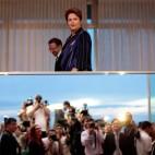 La candidata presidenziale Dilma Rousseff durante una conferenza stampa al Palácio da Alvorada, a Brasilia. (Ueslei Marcelino, Reuters/Contrasto)