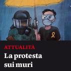 La protesta sui muri